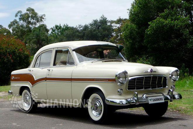 1957 Holden FE Special 4 Door Sedan. Made in Australia by: General Motors Holden in Melbourne, Victoria.