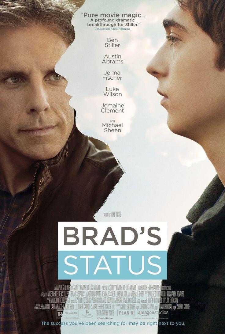 BRAD'S STATUS movie review starring Ben Stiller, Austin Abrams, Jenna Fischer, Luke Wilson, Jemaine Clement, and Michael Sheen!