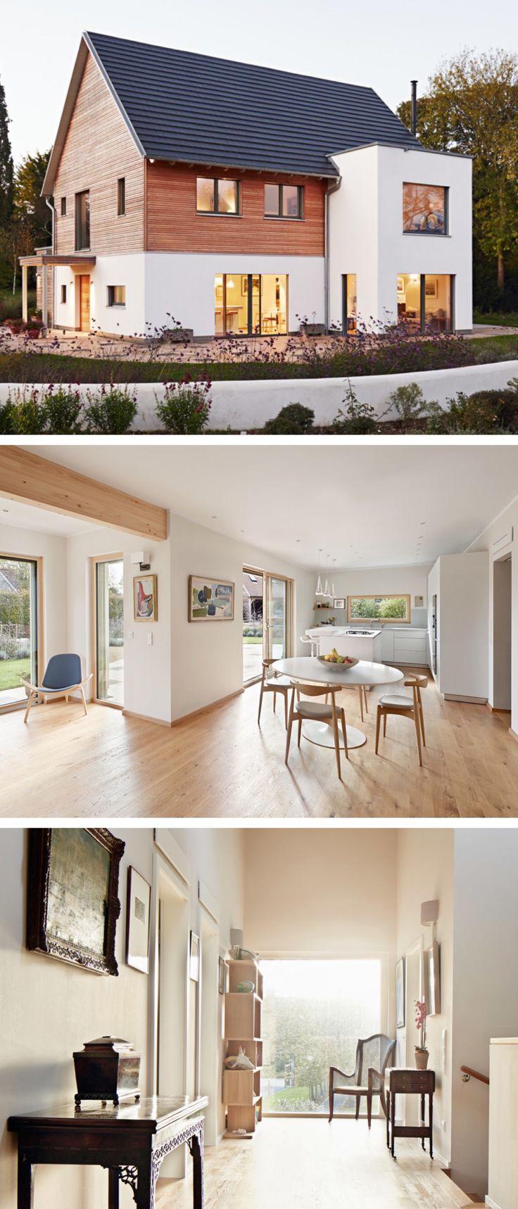 Modernes Design Haus mit Satteldach-Architektur un…