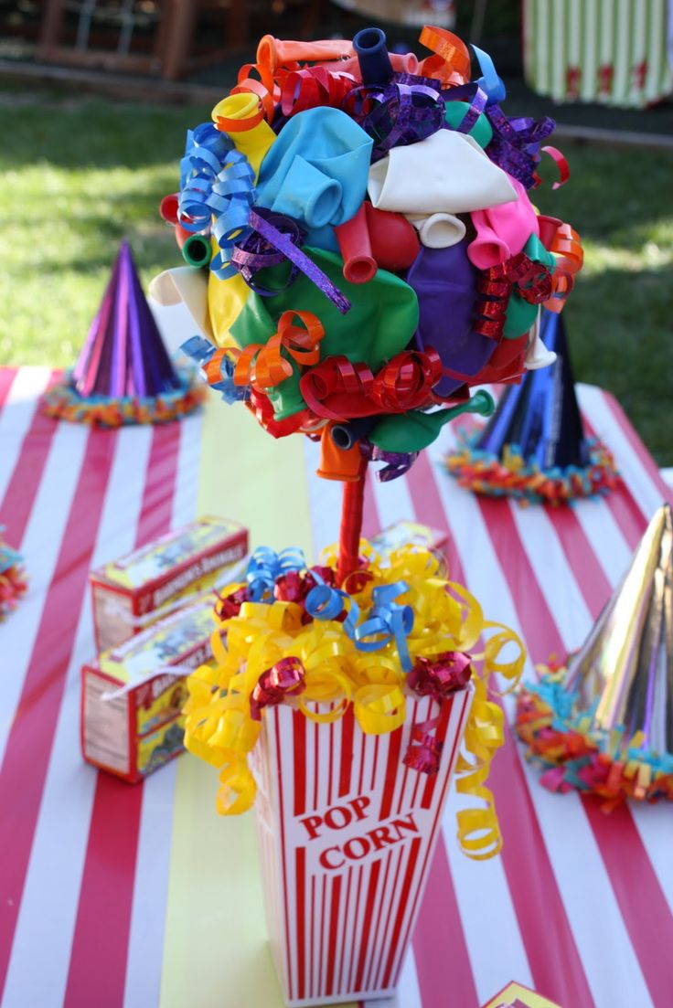 Best circus centerpieces ideas on pinterest carnival