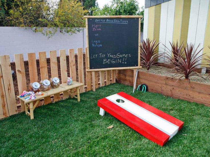 50 best camp backyard images on pinterest | outdoor fun, games and diy - Kid Friendly Patio Ideas