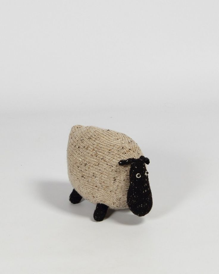 Knitted Toys | Soft Teddy | Irish Craft | Sheep | Toys for Kids | Shop | Design and Craft | Gifts | Makers&Brothers | Makers & Brothers  Brigid the Sheep is a hand-knitted friendly Irish animal. As a young sheep she grew up wandering the wild and windswept mountains of Connemara. Cloaked in cloud and drenched in rain, Brigid spent her youth in the mountains poking about in the heather and staying out of trouble.