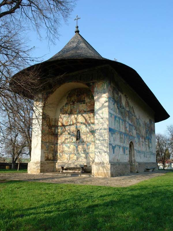 Church of Arbore dedicated to Saint John the Baptist, Moldavia ~ UNESCO World Heritage List (built 1503-1541)