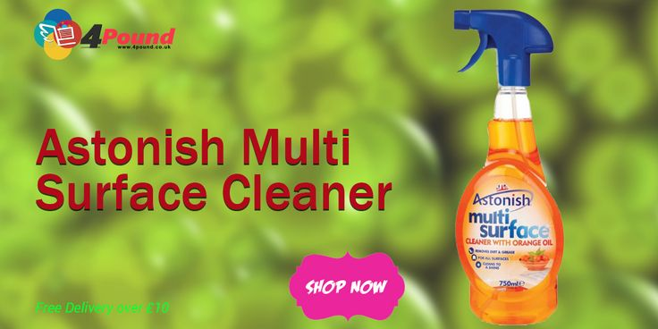 Buy Astonish Multi Surface Cleaner at #4pound store.Get 50% Discount