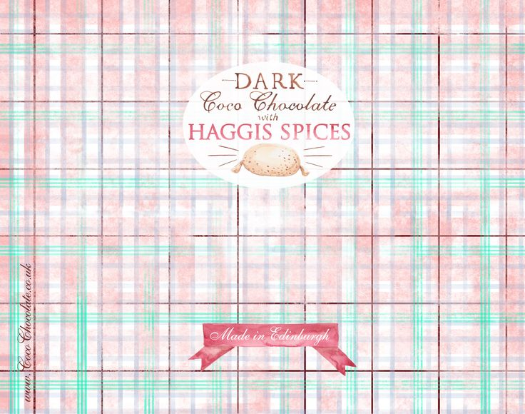 Haggis Spiced Chocolate from our wonderful friends at Coco Chocolate!  Definitely worth a try!