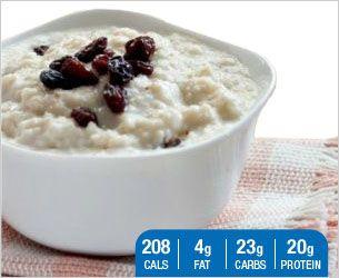 Designer Whey   Hot Vanilla Protein Oatmeal