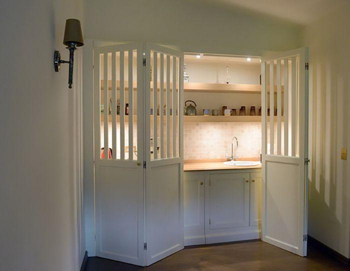 Kitchen in a studio