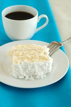 Weight Watchers 5pt coconut cake.  Shut the front door this one looks edible!