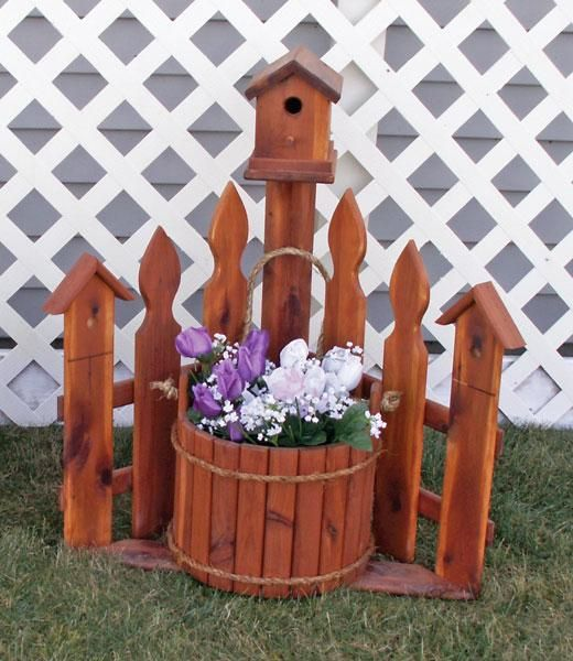 1000+ Ideas About Fence Planters On Pinterest