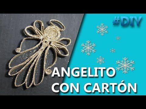 Manualidades | ANGELITOS NAVIDEÑOS FACILES | MANUALIDADES - YouTube