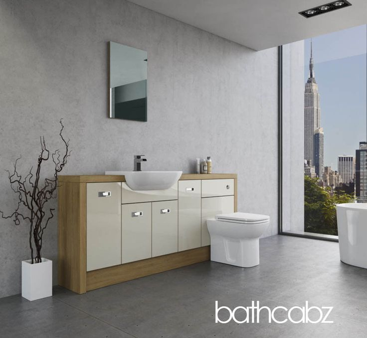 25 best ideas about fitted bathroom furniture on for Bathroom cabinets 1800mm