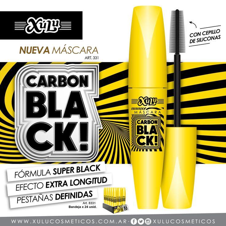 Conocé nuestra nueva Máscara Carbon Black. ¡Fórmula super black para pestañas definidas extra longitud!