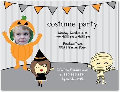 The 25 best Halloween costume party invitations ideas – Costume Party Invitation