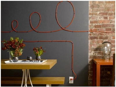 Power cable art