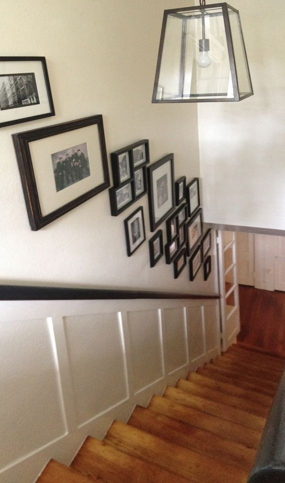116 best images about stairs railing on pinterest for Craftsman picture rail