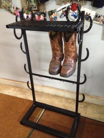 Painted Coat Rack Stand