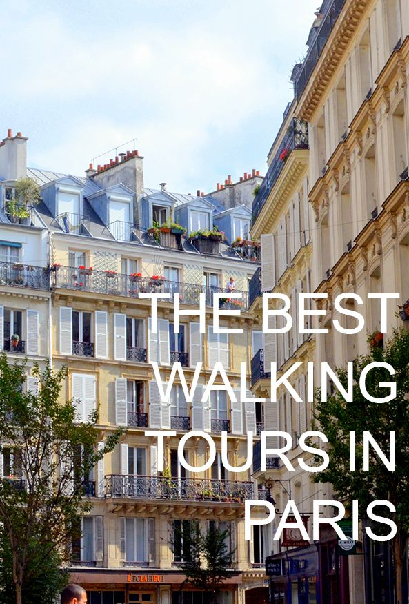 The best walking tours in Paris! The best part? Don't make reservations -- just show up! #france #travel #paris
