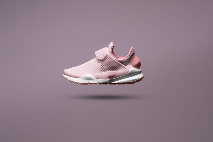 WMNS Nike Sock Dart Premium - Silt Red/Red Stardust/Gum - Sneaker Politics