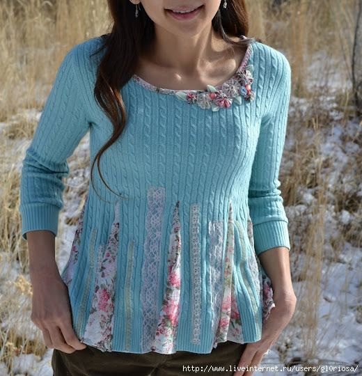 Sweater Upcycle Tutorial
