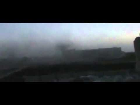 Night battle against ISIS fadikals in Syria