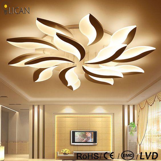 Günstige LICAN Moderne Led Decke Kronleuchter Lichter Für