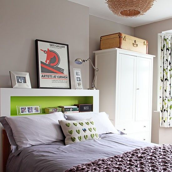 Wall paint colour Main bedroom   1930s semi   House tour   PHOTO GALLERY   Ideal Home   Housetohome.co.uk