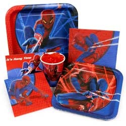 Spiderman Party Supplies at Birthday in a Box