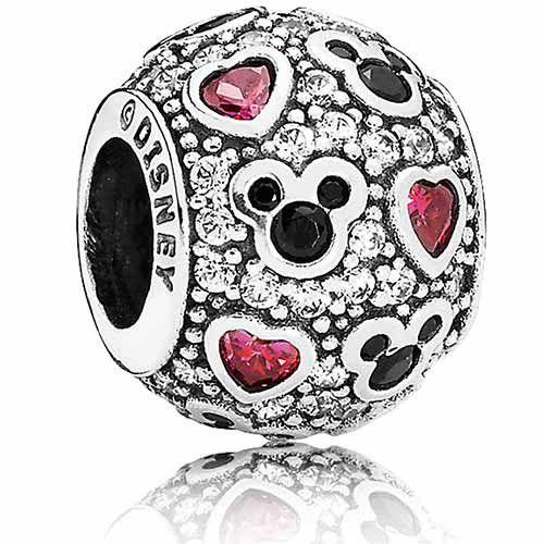 DISNEY Sparkling Mickey & Minnie & Hearts