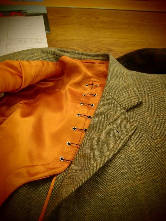 Phitwell Hunting Jacket - Dege & Skinner, Savile Row
