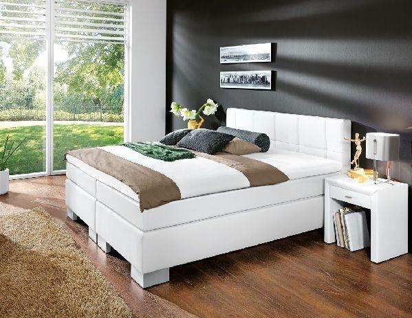 vito Bett FINE Stoffbezug Weiß #Schlafzimmer #Schlafzimmerideen ...