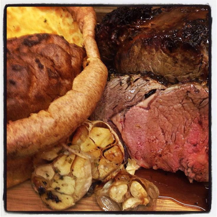 Herb-Crusted Wing Rib Roast with Red Wine Gravy Yorkshire Puddings - Bunbury Farmers Market