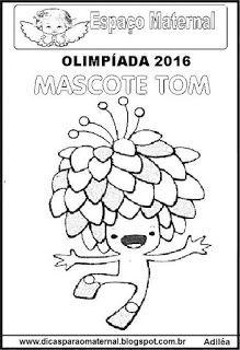 JOGOS OLÍMPICOS 2016 E EDUCAÇÃO INFANTIL, IMPRIMIR E COLORIR - Espaço Maternal
