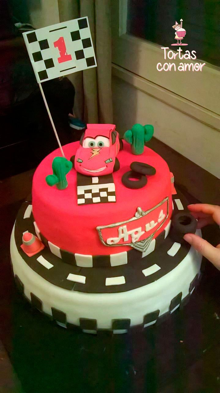 Torta Cars - Cars Cake - Rayo mcqueen
