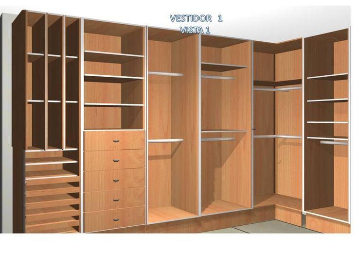 51 mejores im genes de closet en pinterest armario for Closets minimalistas df