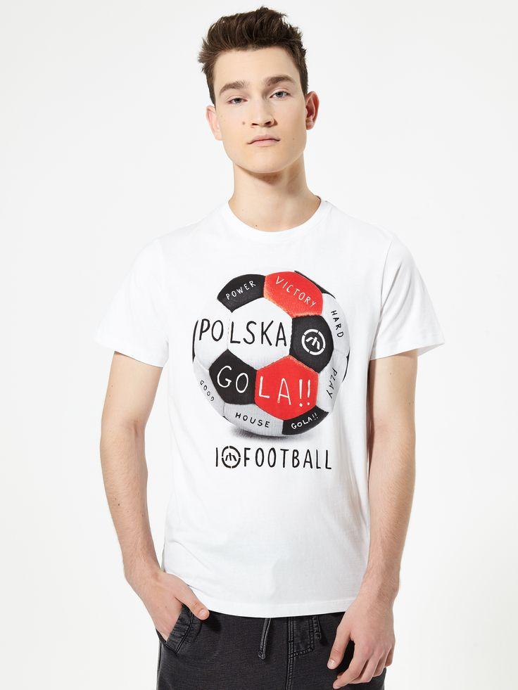 Футболка с принтом Football, HOUSE