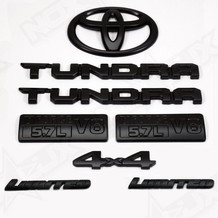Black Out Tundra Limited 8 Piece Front 2014-2017 - Nox Lux