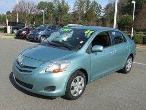 toyota certified used cars yaris
