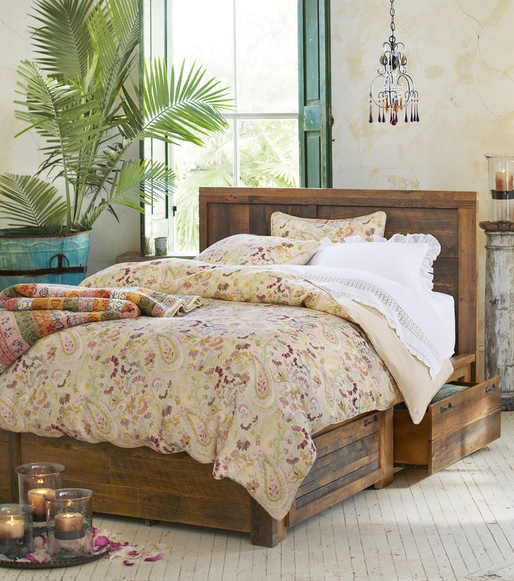 park city platform bed barnwood platform bed with drawers