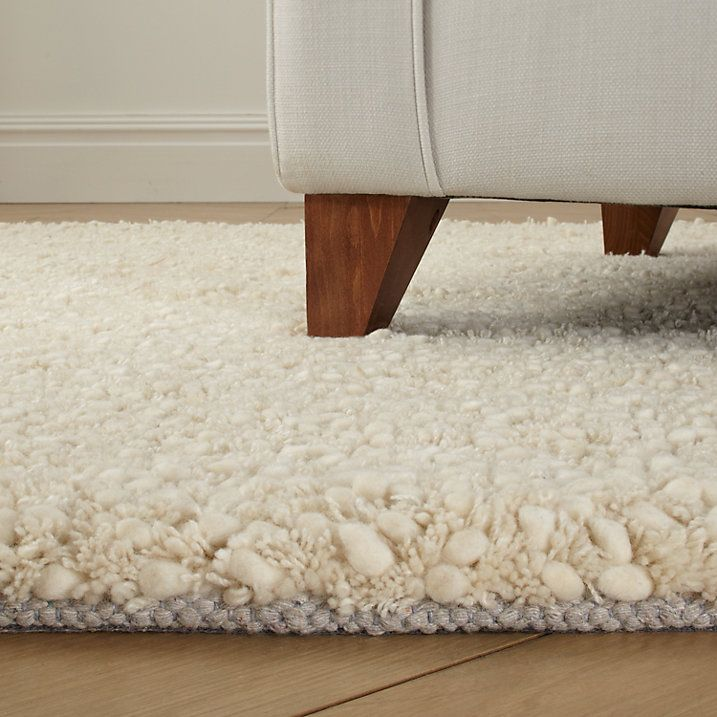 Buy John Lewis Darwin Rug, Cream, L90 x W60cm Online at johnlewis.com