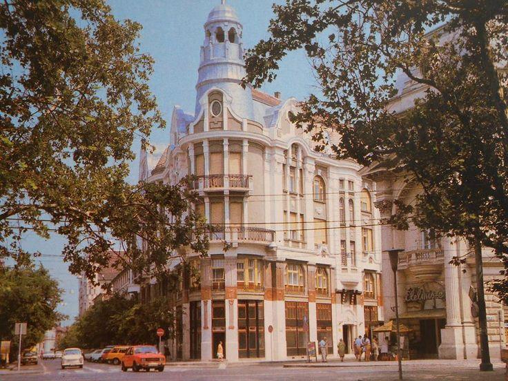 Széchenyi tér - Takaréktár utca sarok 1976