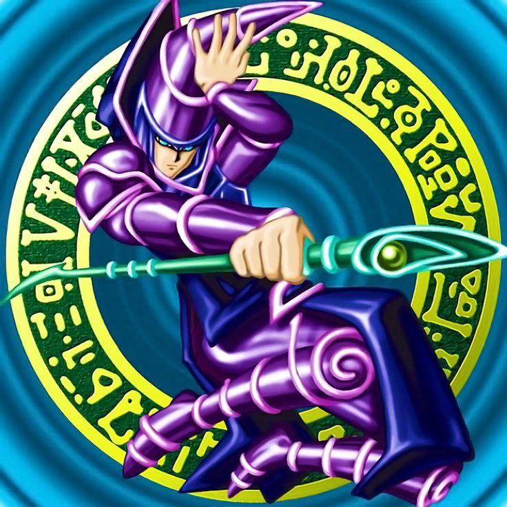 Dark magician mago anime geeks anime