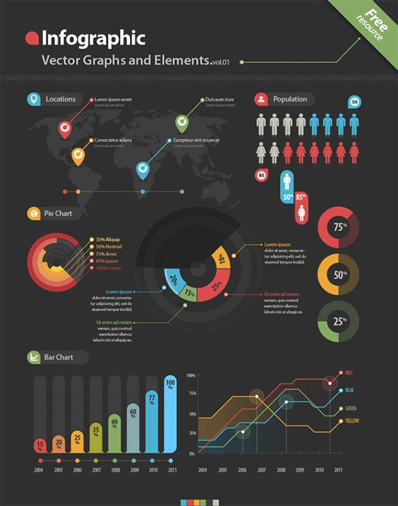 Best  Free Infographic Ideas On   Chart Design