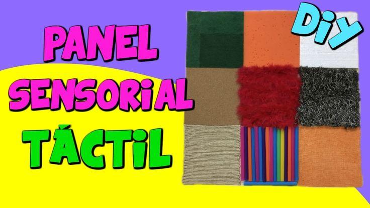 Panel sensorial táctil_Eugenia Romero www.maestrosdeaudicionylenguaje.com