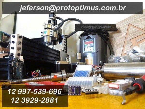 Protoptimus Máquinas e Usinagem CNC: Contato