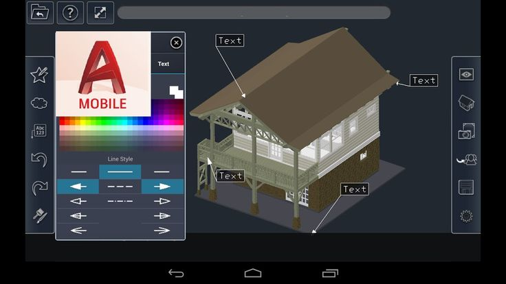 AutoCAD Mobile DWG Viewer Editor Cad Drawing Tools