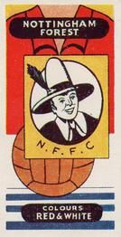 1958 Football Clubs and Badges #8 Nottingham Forest Front
