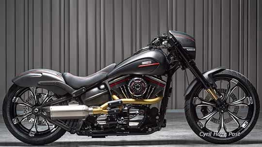 The SSR Harley Breakout. When A 2014 Harley CVO Is Not Exclusive Enough For You. .