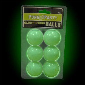 Amazon.com: Glow in the Dark Beer Pong Balls #79092: Sports & Outdoors