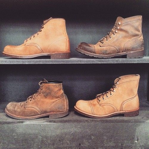 Red Wing Berlin Hamburg Tumblr: 8113 Iron Ranger and 2958 Blacksmith