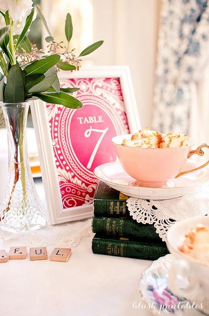 Vintage Garden - Wedding Invitation Set by blush printables, via Flickr